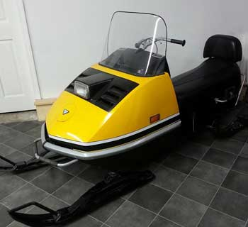 Gregs Restorations | Snowmobile & Skidoo restoration